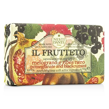 Nesti Dante Il Frutteto Nourishing Soap - Pomegranate & Blackcurrant  250g/8.8oz