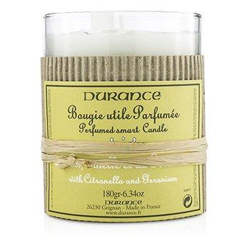 Durance Perfumed Smart Candle - Citronella and Geranium  180g/6.34oz