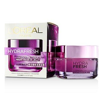 L'Oreal Hydrafresh Hydration+ Antiox Active Mask-In Jelly  50ml/1.7oz