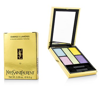Yves Saint Laurent Ombres 5 Lumieres (5 Colour Harmony for Eyes) - No. 13 Candy  8.5g/0.29oz