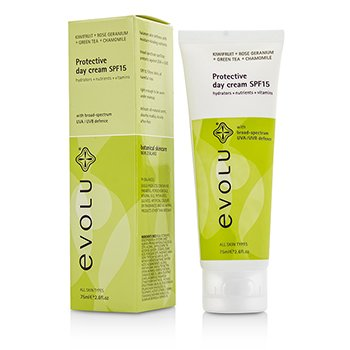 Evolu Protective Day Cream SPF15  75ml/2.6oz