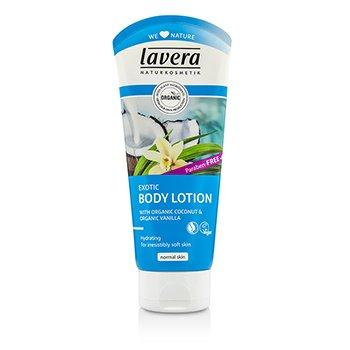Lavera Organic Coconut & Vanilla Exotic Body Lotion  200ml/6.6oz