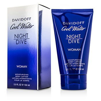 Davidoff Cool Water Night Dive Moisturizing Body Lotion  150ml/5oz
