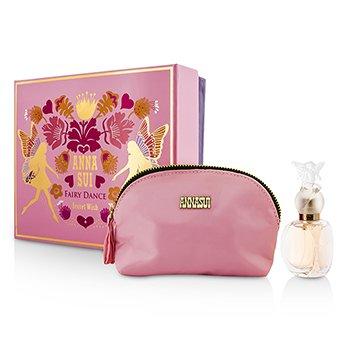 Anna Sui Secret Wish Fairy Dance Coffret: Eau De Toilette Spray 30ml/1oz + Cosmetic Pouch  1pc+1pouch
