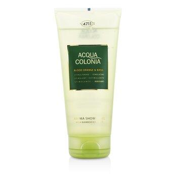 4711 Acqua Colonia Blood Orange & Basil Aroma Shower Gel  200ml/6.8oz