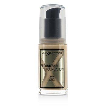 Max Factor Second Skin Foundation - #075 Golden  30ml/1oz