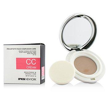 IPKN New York Artist's Touch Complexion Care CC Cream (Compact) - #02 Medium  7g/0.25oz