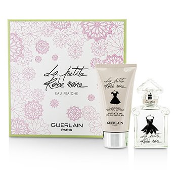 Guerlain La Petite Robe Noire Eau Fraiche Coffret: Eau De Toilette Spray 30ml/1oz + Body Milk 75ml/2.5oz  2pcs