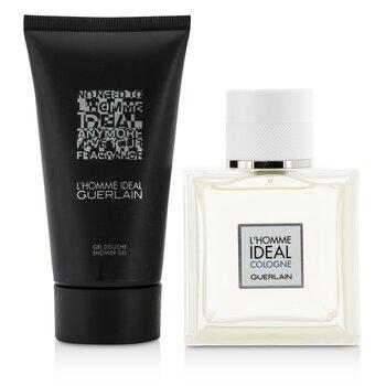 L'Homme Ideal Cologne Coffret: Eau De Toilette Spray 50ml/1.6oz + Shower Gel 75ml/2.5oz  2pcs