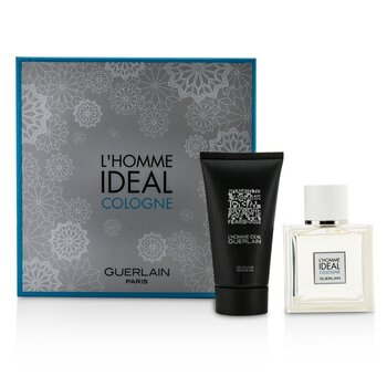 Guerlain L'Homme Ideal Cologne Coffret: Eau De Toilette Spray 50ml/1.6oz + Shower Gel 75ml/2.5oz  2pcs