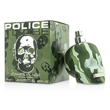Police To Be Camouflage Eau De Toilette Spray  75ml/2.5oz