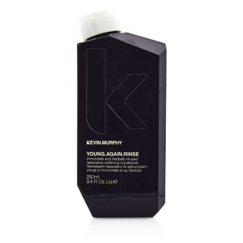 Kevin.Murphy Young.Again.Rinse (Immortelle and Baobab Infused Restorative Softening Conditioner - To Dry, Brittle or Damaged Hair)  250ml/8.4oz
