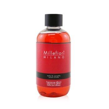 Millefiori Natural Fragrance Diffuser Refill - Mela & Cannella  250ml/8.45oz