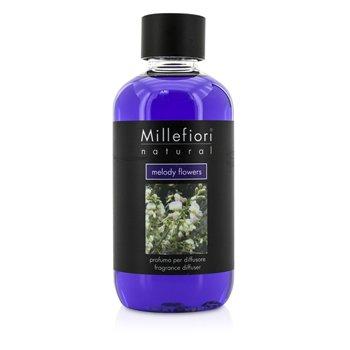Millefiori Natural Fragrance Diffuser Refill - Melody Flowers  250ml/8.45oz