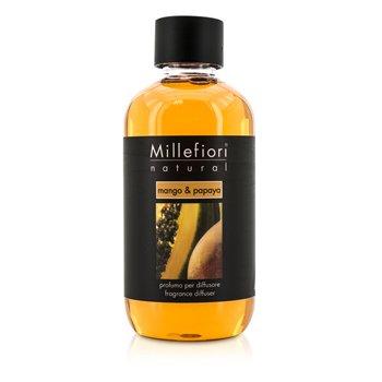 Millefiori Natural Fragrance Diffuser Refill - Mango & Papaya  250ml/8.45oz