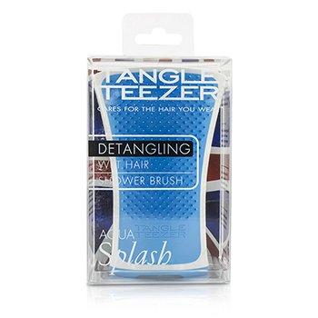 Tangle Teezer Aqua Splash Detangling Shower Brush - # Blue Lagoon (For Wet Hair)  1pc