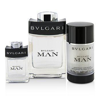 Man Coffret: Eau De Toilette Spray 100ml/3.4oz + Travel Spray 15ml/0.5oz + Deodorant Stick 75ml/2.7oz  + Travel Pouch 3pcs+pouch