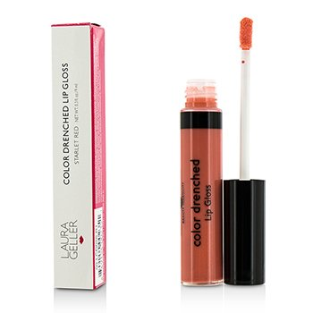Laura Geller Color Drenched Lip Gloss - #Melon Infusion  9ml/0.3oz