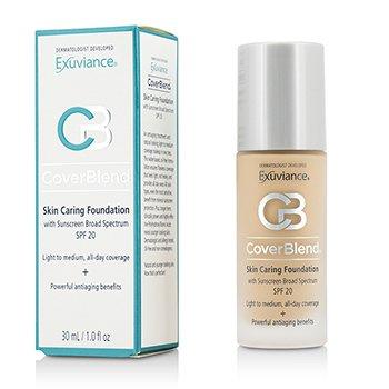 Exuviance CoverBlend Skin Caring Foundation SPF20 - # True Beige  30ml/1oz