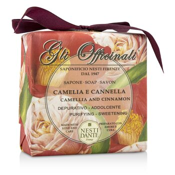 Nesti Dante Gli Officinali Soap - Camellia & Cinnamon - Purifying & Sweetening  200g/7oz