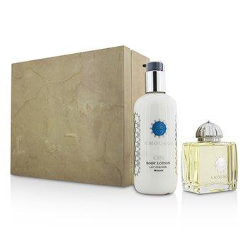 Ciel Coffret: Eau De Parfum Spray 100ml/3.4oz + Body Lotion 300ml/10oz  2pcs