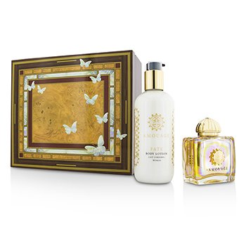 Amouage Fate Coffret: Eau De Parfum Spray 100ml/3.4oz + Body Lotion 300ml/10oz  2pcs