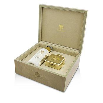 Gold Coffret: Eau De Parfum Spray 100ml/3.4oz + Body Lotion 300ml/10oz  2pcs