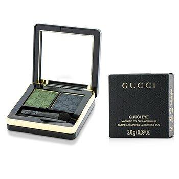 Gucci Magnetic Color Shadow Duo - #080 Malachite  2.6g/0.09oz