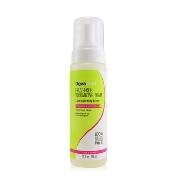 Frizz-Free Volumizing Foam (Lightweight Body Booster - Texture & Volume)  222ml/7.5oz