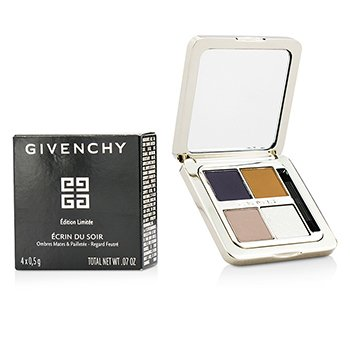 Givenchy Ecrin Du Soir Mat & Sequined Shadows (Limited Edition) - Harmonie D'Exception  4x0.5g/0.07oz