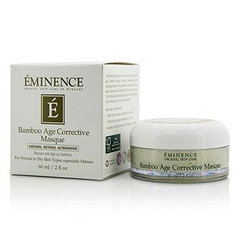 Eminence Bamboo Age Corrective Masque - For Normal to Dry Skin Types, Espescially Mature  60ml/2oz