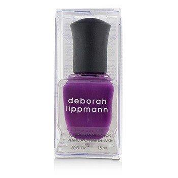 Deborah Lippmann Luxurious Nail Color - Drunk In Love (Pure Purple Pleasure Creme)  15ml/0.5oz