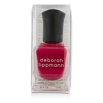 Deborah Lippmann Luxurious Nail Color - The Heat Is On (Scalding Scarlett Creme)  15ml/0.5oz