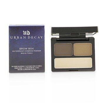 Urban Decay Brow Box: Eyebrow Powder + Wax + Tools - Brown Sugar  -