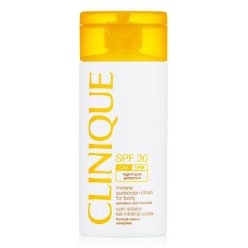 Clinique Mineral Sunscreen Lotion For Body SPF 30 - Sensitive Skin Formula  125ml/4oz