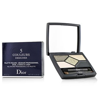 Christian Dior 5 Color Designer All In One Professional Eye Palette - No. 308 Khaki Design  5.7g/0.2oz