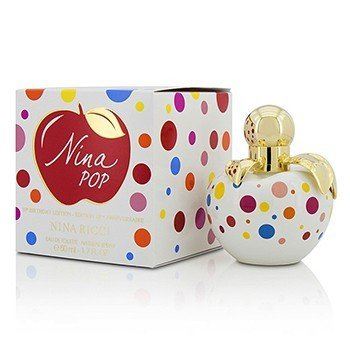 Nina Ricci Nina Pop Eau De Toilette Spray (10th Birthday Edition)  50ml/1.7oz