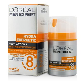 Men Expert Hydra Energetic Multi-Action 8 Anti-Fatigue Moisturizer  50ml/1.7oz