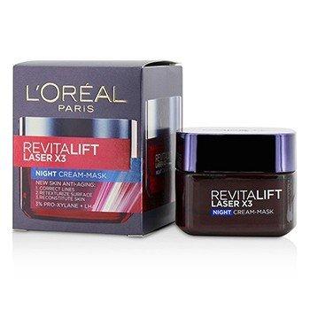 Revitalift Laser x3 New Skin Anti-Aging Night Cream-Mask  50ml/1.7oz