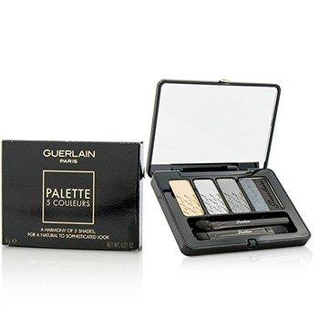 Guerlain 5 Couleurs Eyeshadow Palette - # 04 L'Heure De Nuit  6g/0.21oz
