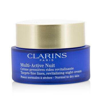 Clarins Multi-Active Night Targets Fine Lines Revitalizing Night Cream - For Normal To Dry Skin  50ml/1.6oz