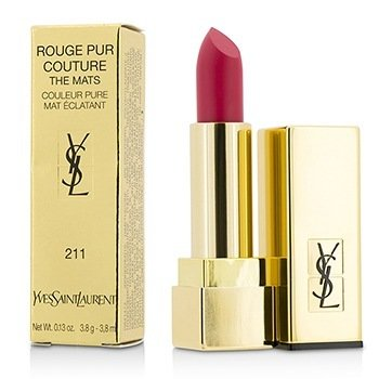 Yves Saint Laurent Rouge Pur Couture The Mats - # 211 Decadent Pink  3.8g/0.13oz