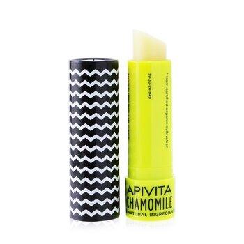 Apivita Lip Care With Chamomile SPF 15  4.4g/0.15oz
