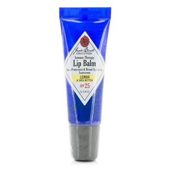 Jack Black Intense Therapy Lip Balm SPF 25 With Lemon & Shea Butter  7g/0.25oz