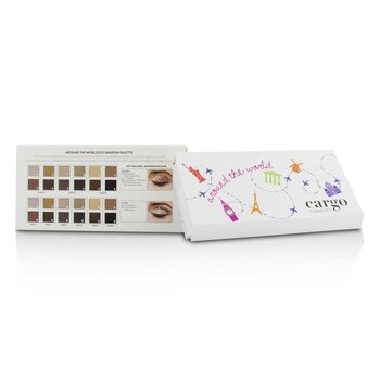 Around the World Eye Shadow Palette (12x Eye Shadow, 1x Shadow Brush)  12x0.8g/0.03oz