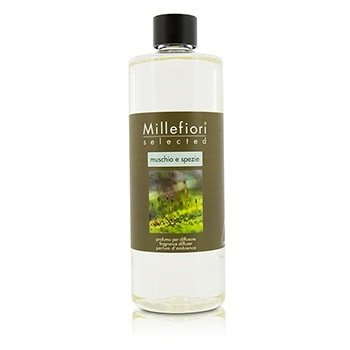Millefiori Selected Fragrance Diffuser Refill - Muschio E Spezie  500ml/16.9oz