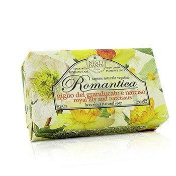 Nesti Dante Romantica Luxurious Natural Soap - Royal Lily & Narcissus  250g/8.8oz
