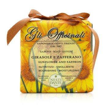 Nesti Dante Gli Officinali Soap - Sunflower & Zafferano - Nourishing & Moisturizing  200g/7oz