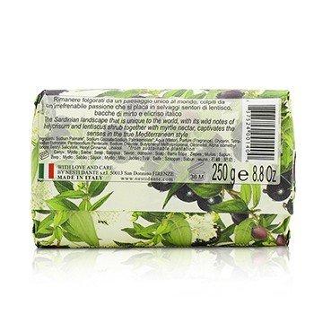 Dolce Vivere Fine Natural Soap - Sardegna - Myrtle Nectar, Lentiscus & Helycrisum Shrub  250g/8.8oz