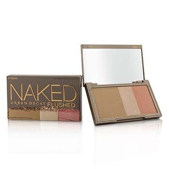 Urban Decay Naked Flushed - Streak (1x Blush, 1x Bronzer, 1x Highlighter)  14g/0.49oz